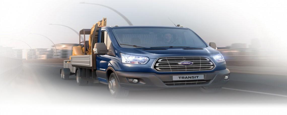 Ford Transit Kamyonet 2018-2017 | Ticari Araçlar | Ford TR